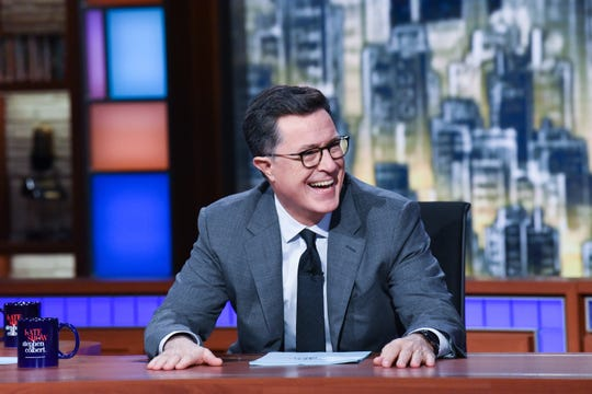 'The Late Show' host Stephen Colbert, who had to shift gears quickly when he learned Donald Trump was elected president during a 2016 live show, will be part of another live edition of the CBS late-night show on Election Night next week.