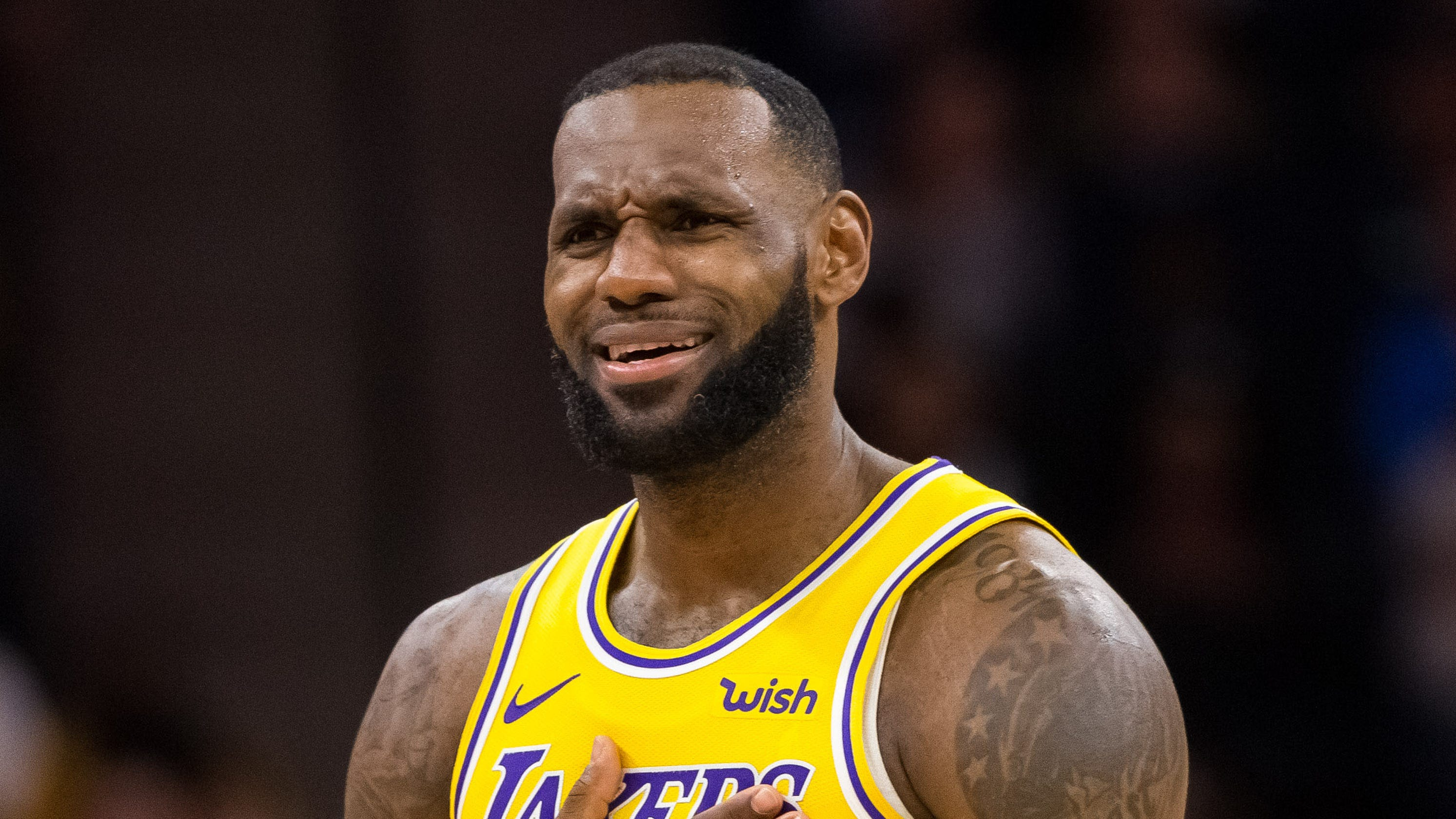 60dde910ce2 Lakers  LeBron James is already sick of losing