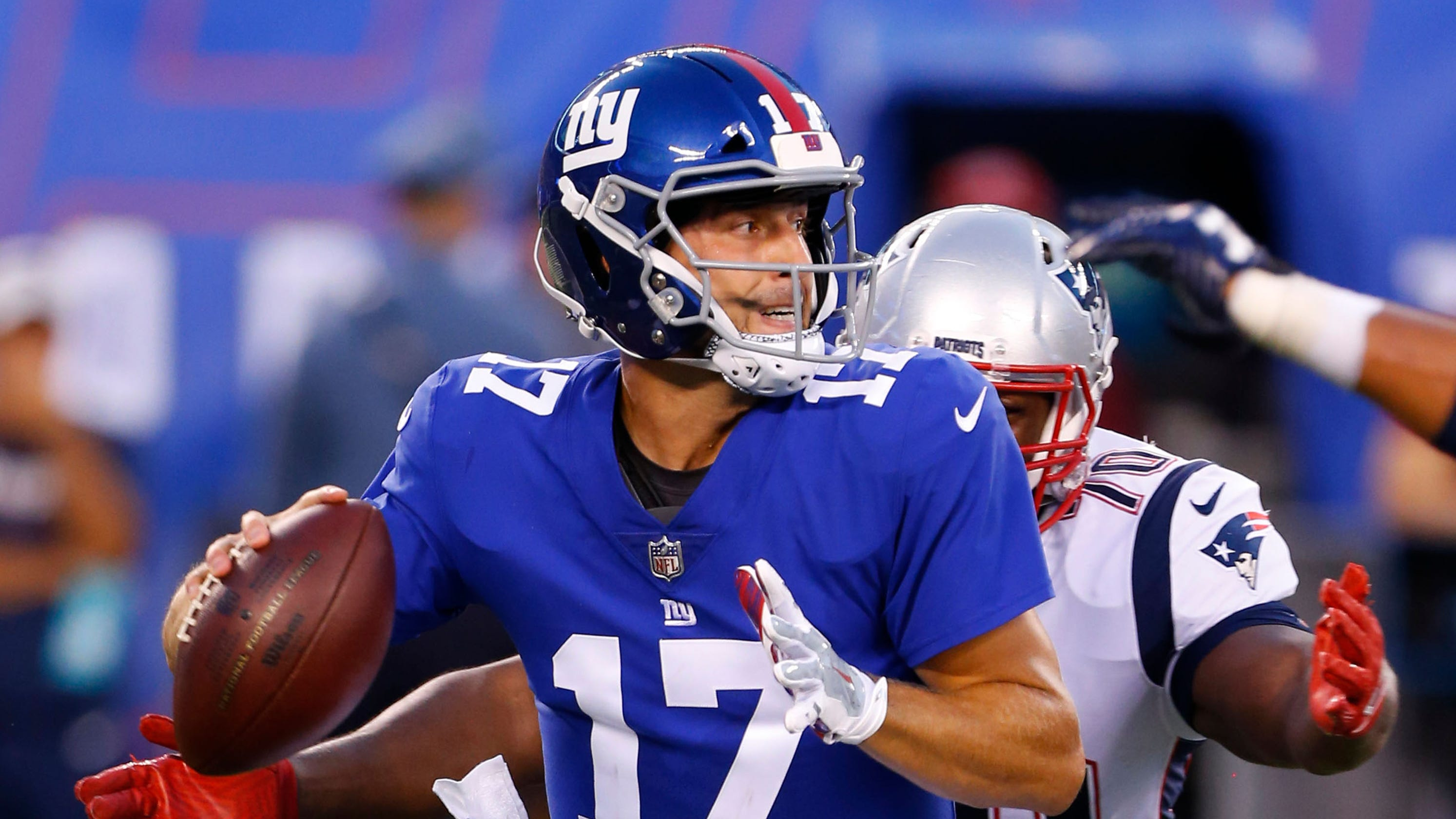 6588b2193 Giants QB Kyle Lauletta arrested after nearly hitting cop with car
