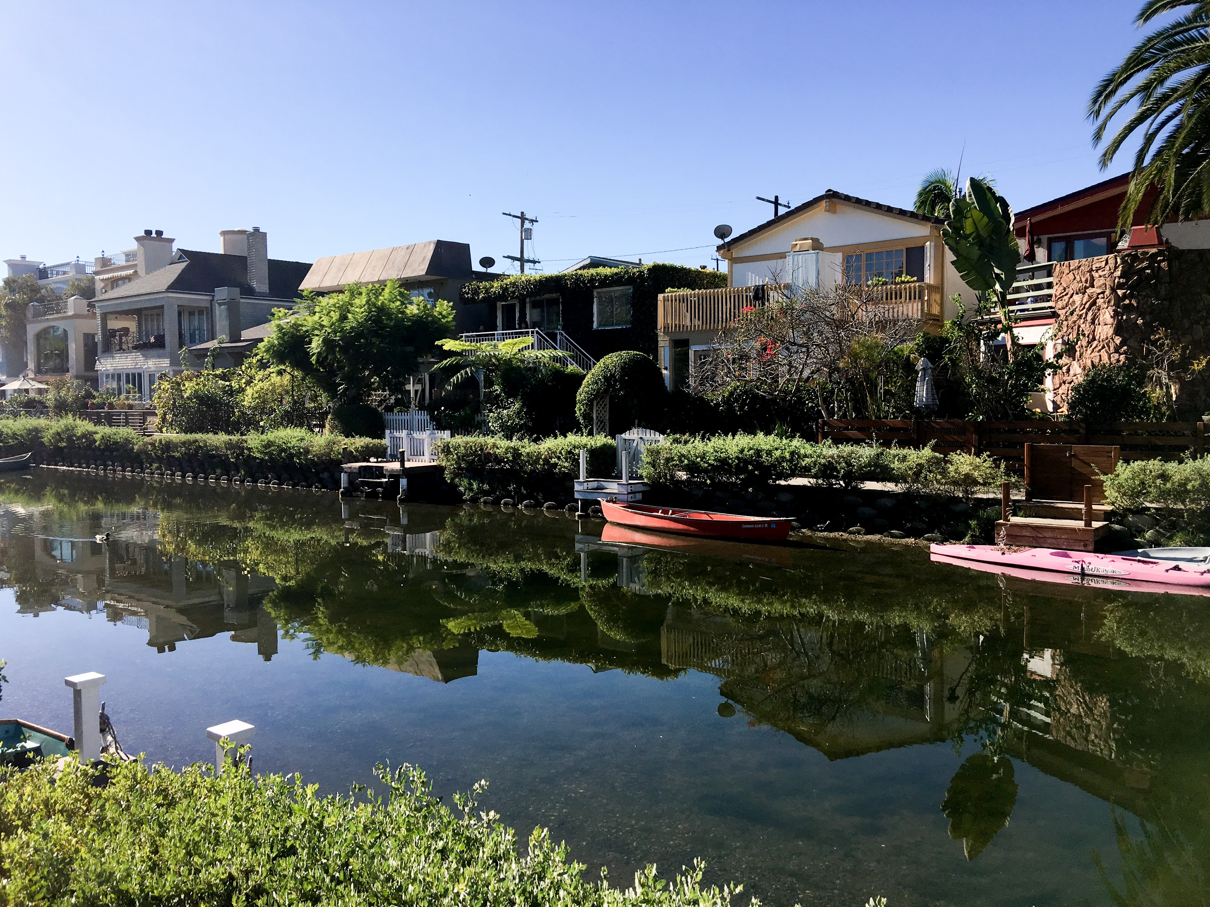 The Venice Canals are a popular place for tourists to visit.