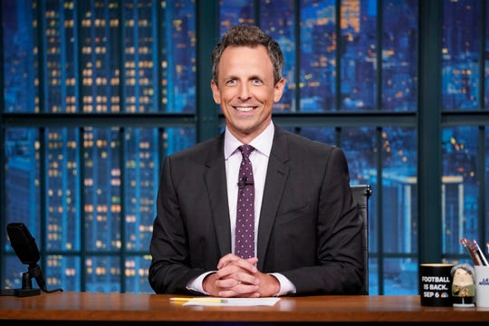 Seth Meyers of NBC's 'Late Night with Seth Meyers