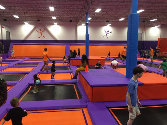 Grand Chute's Altitude Trampoline Park will look similar to this one.
