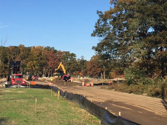 Development is already underway on Cindy Lane where the town is proposing to do a land swap with a developer at Deal Road.