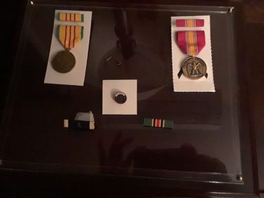 Bernard Ebner's five replacement U.S. military awards
