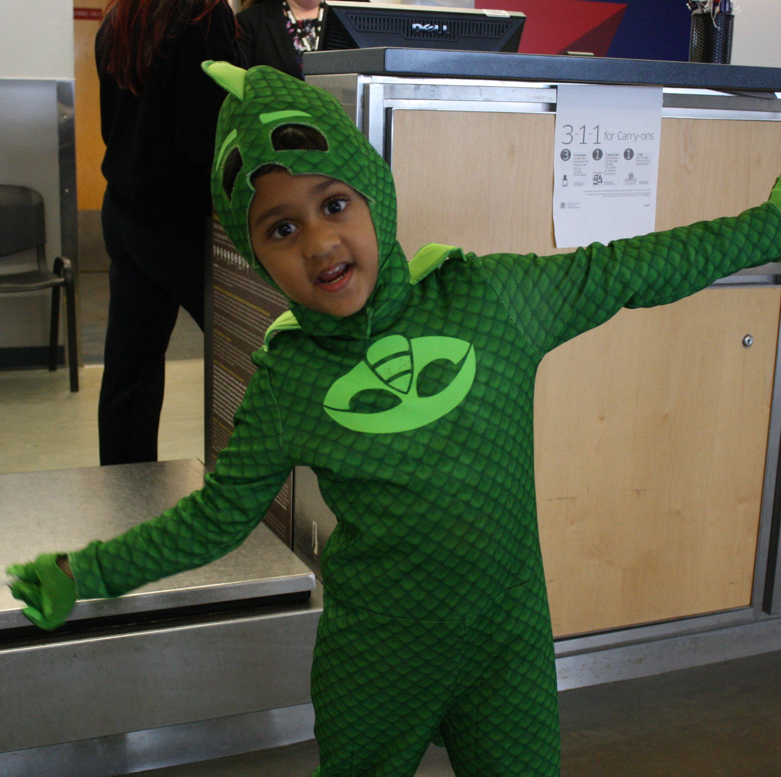 Greater Binghamton Airport hosts trick-or-treaters