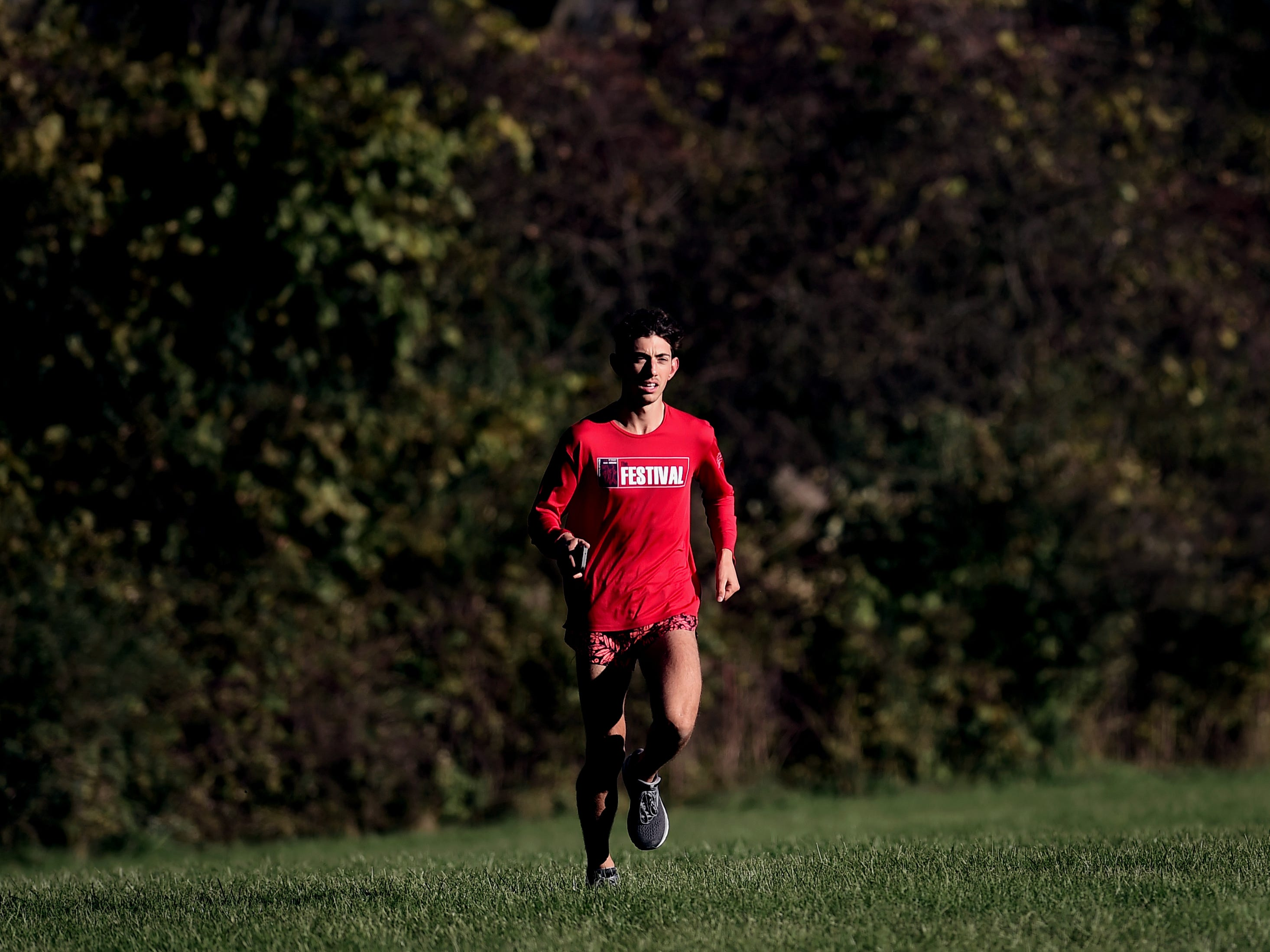 Gabe Planty of Watkins Glen Central High School, cross country athlete. Athlete Of The Week, October 30, 2018.