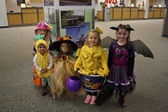 The Greater Binghamton Airport hosted Halloween at the Airport Wednesday.