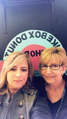 Tanya Pickering and her mother, Kathy Brooks, co-own the JukeBox Donut Shop.