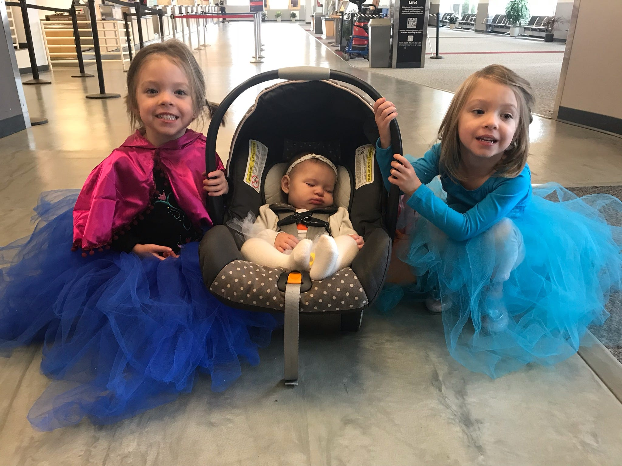 The Greater Binghamton Airport hosted Halloween at the Airport for the fifth year on Wednesday. There, participants were encouraged to trick-or-treat at various locations throughout the airport.