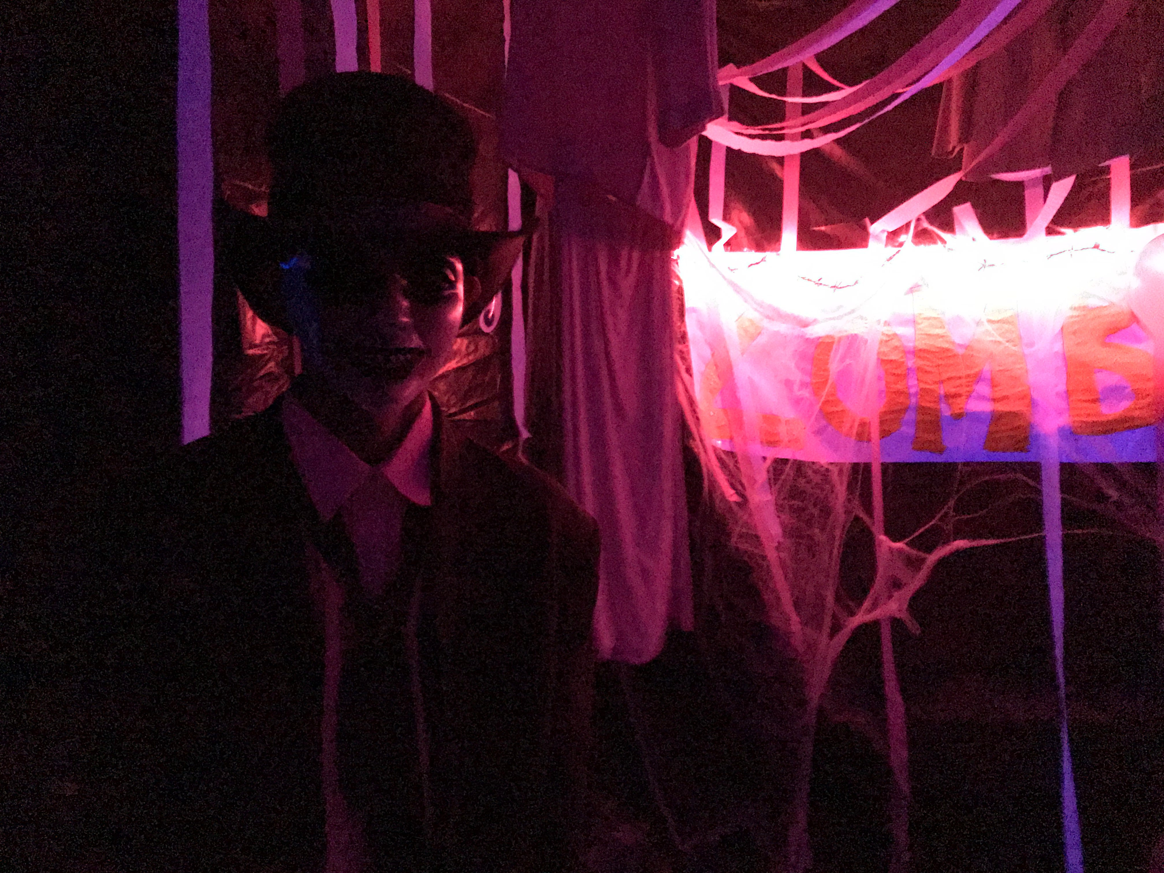 United Methodist Homes Hilltop Campus' haunted house Oct. 30-31.