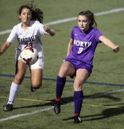 North Kitsap's Charlotte Bond started her freshman season as a defender before taking on an attacking role the past two seasons.