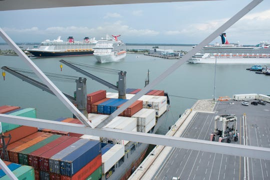 Port Canaveral reported strong financial numbers for both its cruise and cargo operations for the budget year that ended Sept. 30.