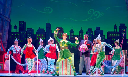 """""""Elf the Musical"""" hits the Flynn Center stage Nov. 14-15."""