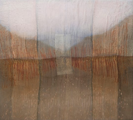 """Pause"" by Karen Henderson is among the works on display through Dec. 28 in Montpelier."