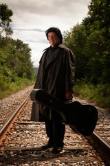 George Richard leads the Johnny Cash Tribute Show into Vergennes on Nov. 17.