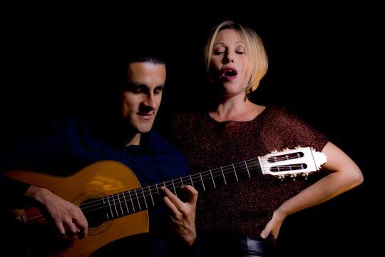 Daniel Gaviria and Sarah Cullins of 8 Cuerdas perform concerts Nov. 16-18