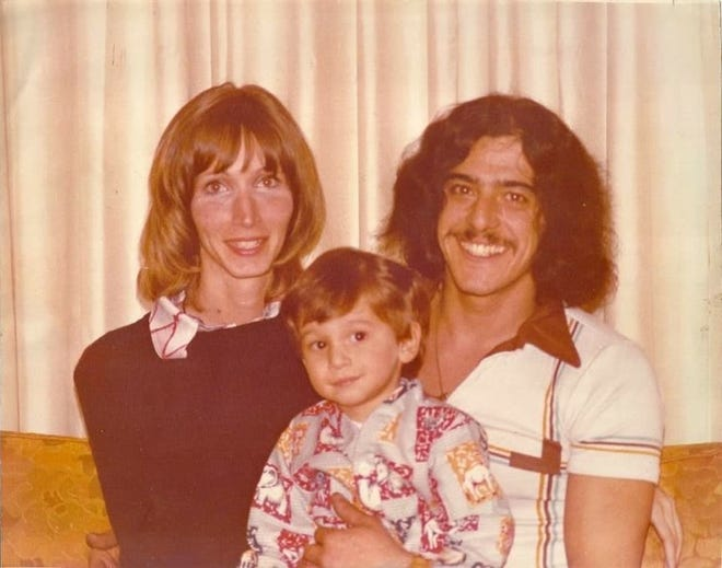 Gary and Joan Deal, shown with their son Jason, were slain in their Folsom home in October 1978.