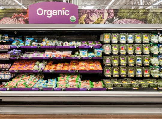 Visitors to the expanded Walmart Supercenter in Cinnaminson will find a wide selection of fresh groceries.