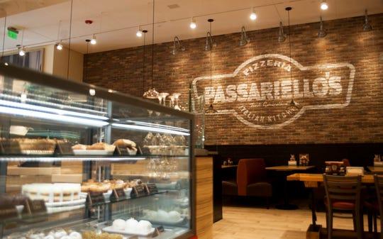 Interior of Passariello's Pizzeria and Italian Kitchen in Haddonfield.