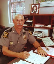 Dennis Rees early in his career as Loveland Police Chief.