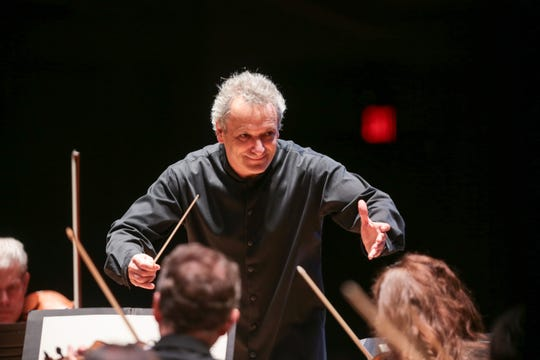 "Maestro Louis Langrée, music director of the Cincinnati Symphony Orchestra, will lead a pair of concerts Nov. 9-10 featuring Beethoven's ""Symphony No. 9"" and the world premiere of composer-in-residence Jonathan Bailey Holland's ""Ode."""