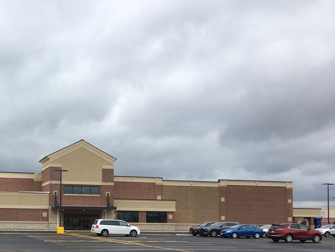 Work continues on the new Kroger on Springdale Road across the street from Northgate Mall.