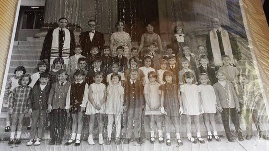 Jennifer Mooney's elementary school classmates.