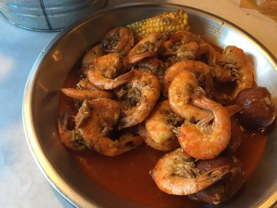 Shrimp boil at Cincy Crab