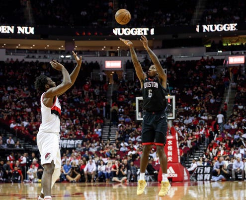Nba Portland Trail Blazers At Houston Rockets