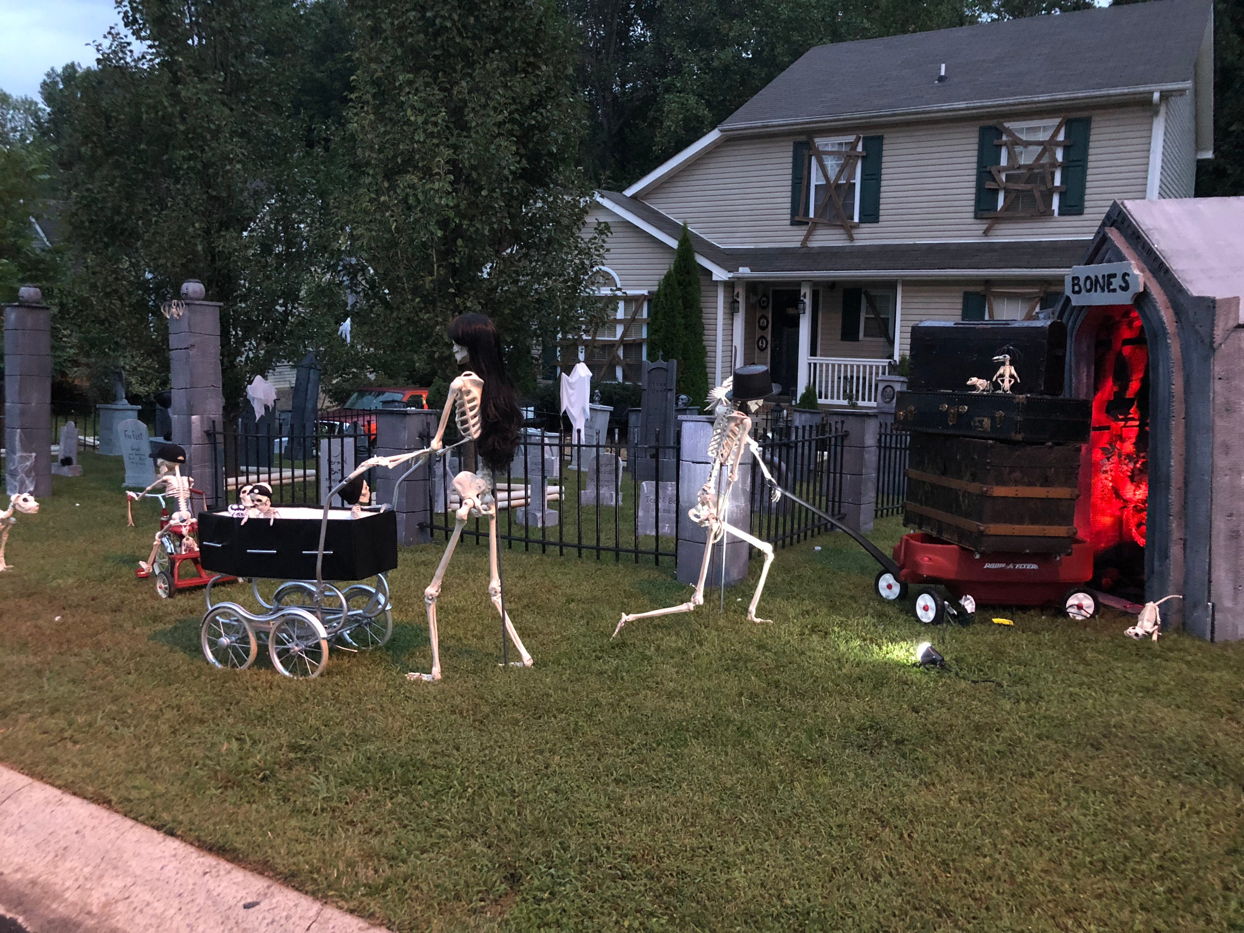 The Bones Arive To Their Annual Vacation Spot