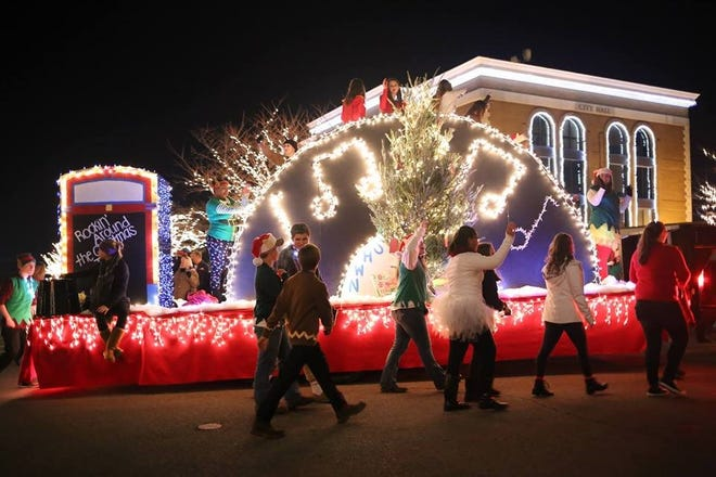This night-time, lighted Christmas parade is scheduled for 5 p.m. Saturday, Dec. 1 in downtown Clarksville.