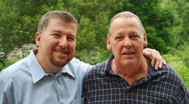 Fred Feiner and his brother, Robert Feiner, who passed away earlier this year.