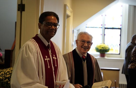 First Baptist Church of Somerville celebrated its 175th anniversary Oct. 26 with a worship service led by Pastor Loreno R Flemming and luncheon. The guest speaker was Reverend J. Kenneth Mart.