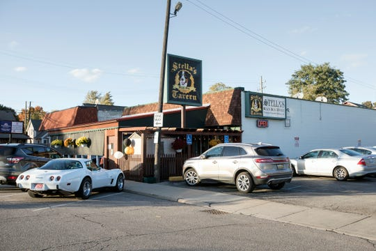 Stella's Black Dog Tavern is located on Fralick St. in Plymouth seen here on Monday, Oct. 22, 2018.