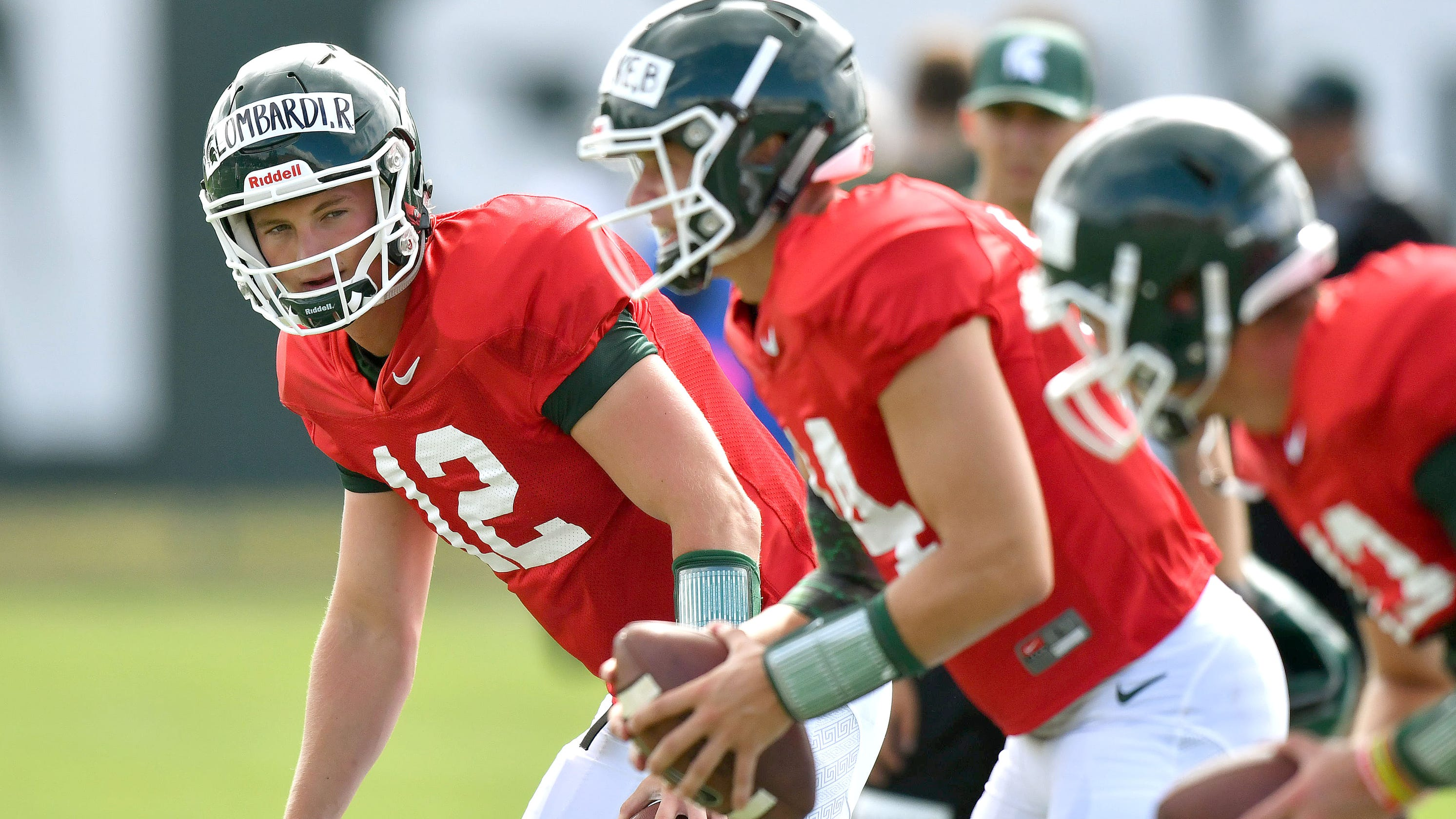 As Brian Lewerke mends, Michigan State leans on Rocky Lombardi