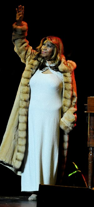 Aretha Franklin in December 2013.