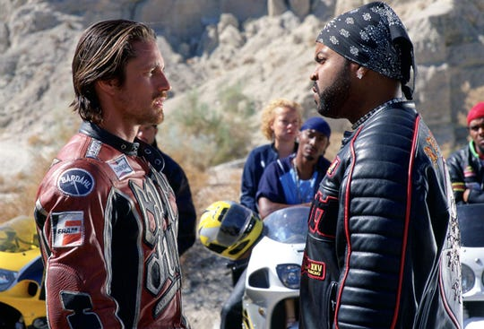 "Martin Henderson and Ice Cube in ""Torque."""