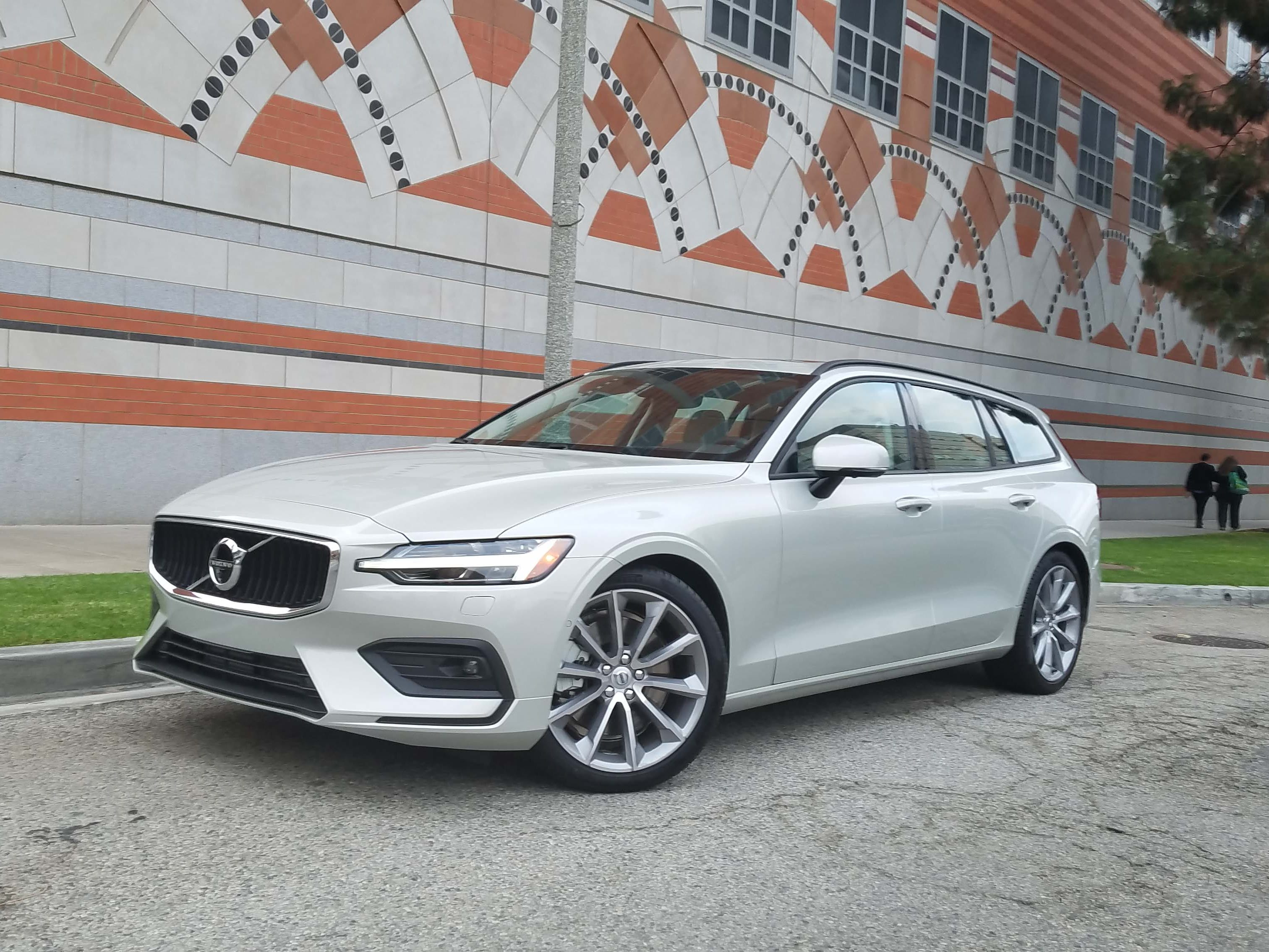 The gorgeous 2019 Volvo V60 wagon offers styling, acres of rear cargo space and roof access. It starts at about $3K more than the S60 sedan.