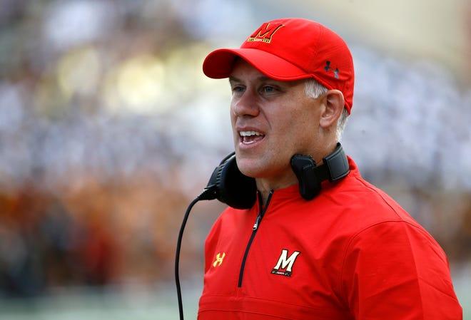 Maryland head coach DJ Durkin