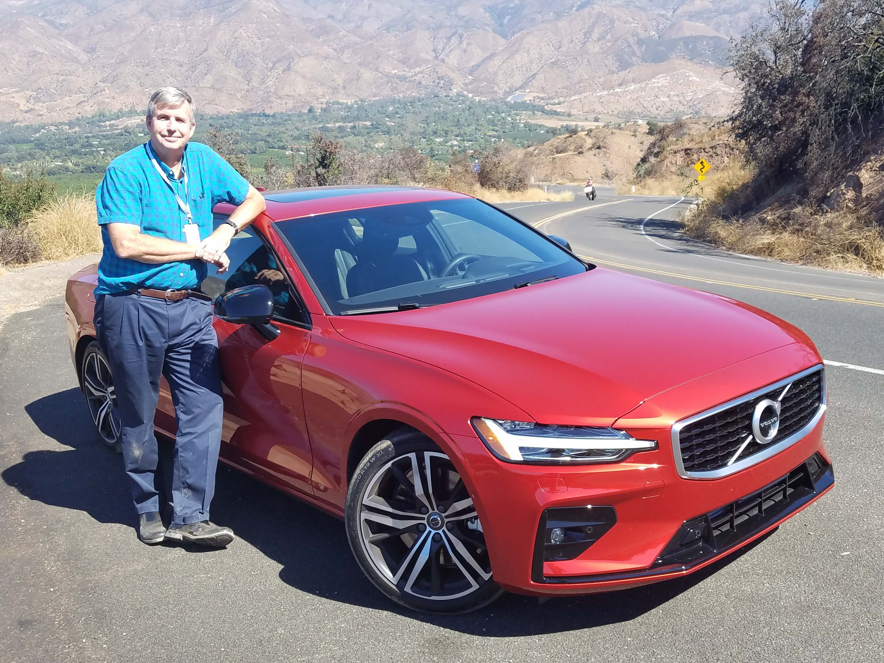 Detroit News auto critic Henry Payne flogged the 2019 Volvo S60 through the twisty roads of northern L.A.