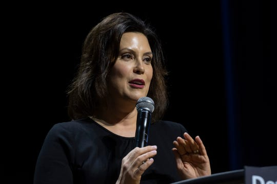 Democratic gubernatorial candidate Gretchen Whitmer touted her work as the  state senate minority leader with Snyder to expand Medicaid eligibility as evidence of her ability to work with Republicans on big issues.