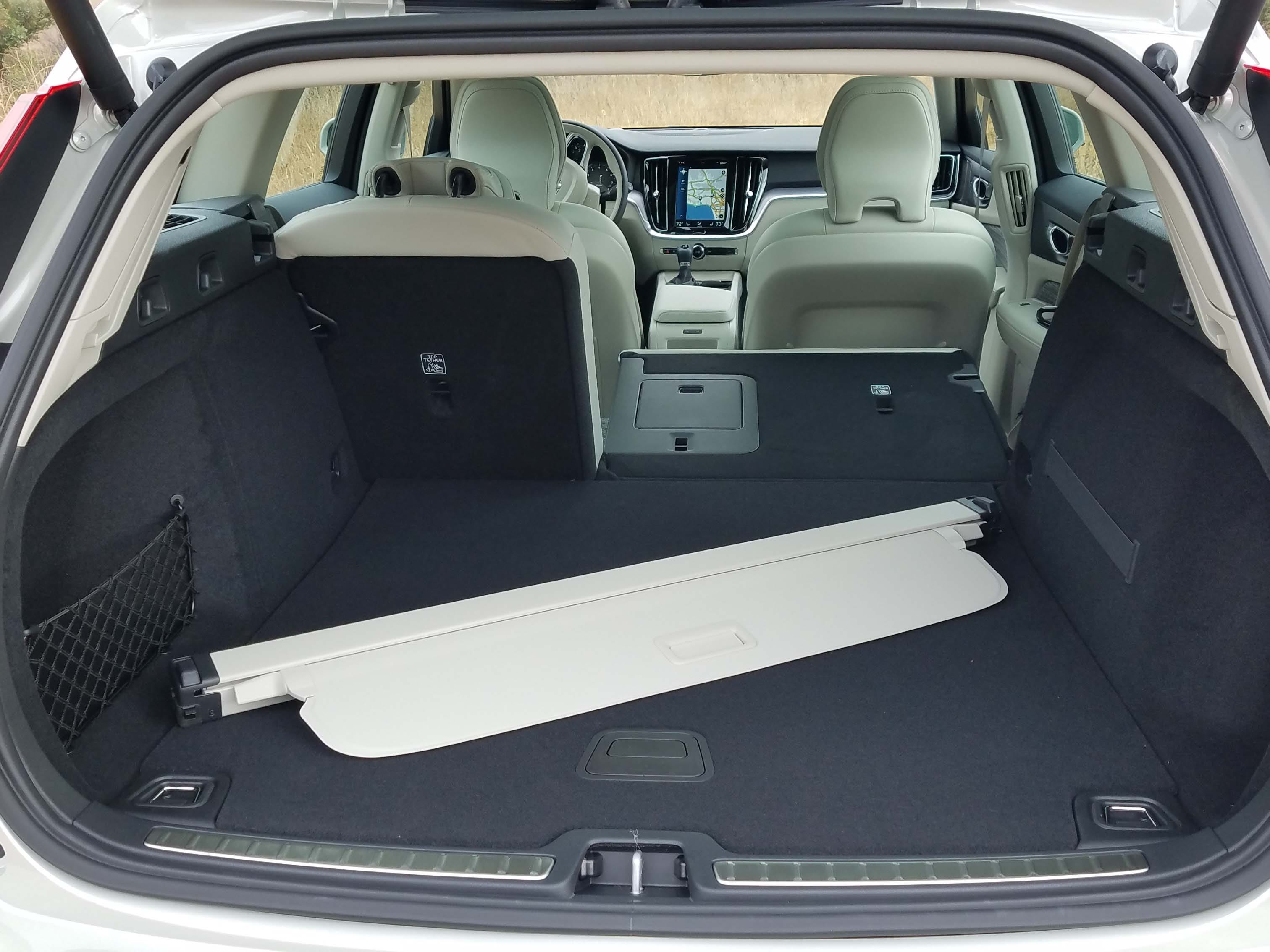 The 2019 Volvo V60 wagon is not only lovelier than the X60 SUV — it features better utility with more cargo room and better roof access. Just sayin'.
