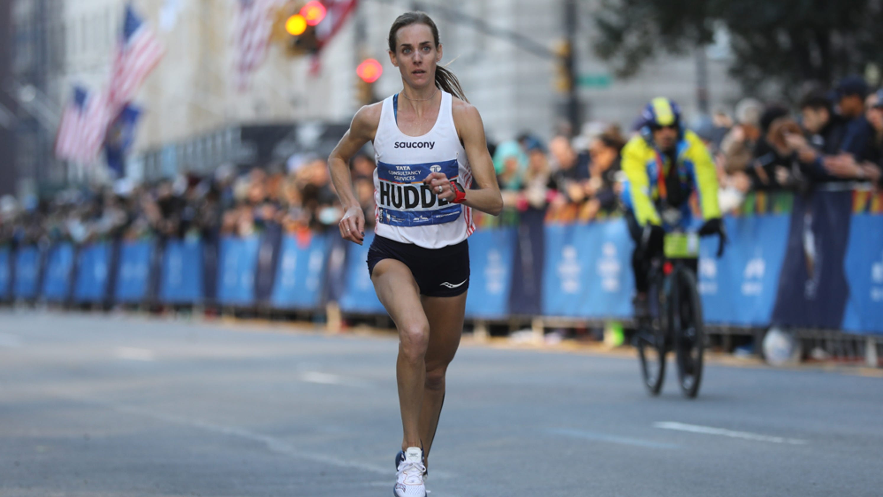 344bd173c656 Molly Huddle excited to race New York City Marathon for second time