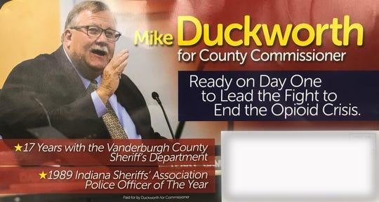 Duckworth mailer