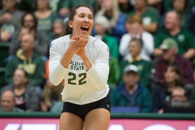 CSU setter Katie Oleksak is the back-to-back Mountain West Player of the Year.