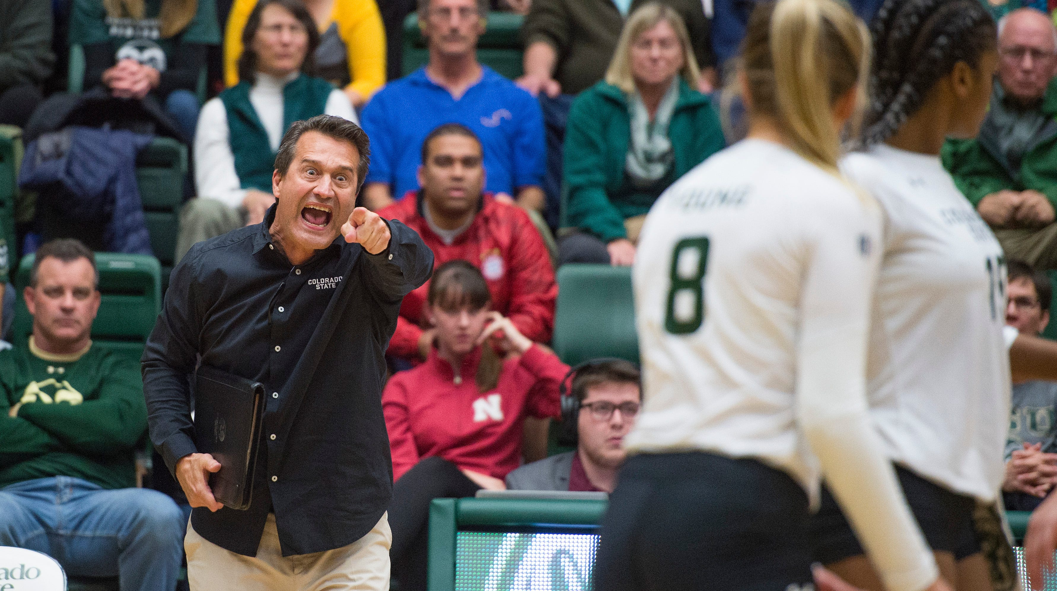 Tom Hilbert's CSU volleyball team closes out another Mountain West volleyball title