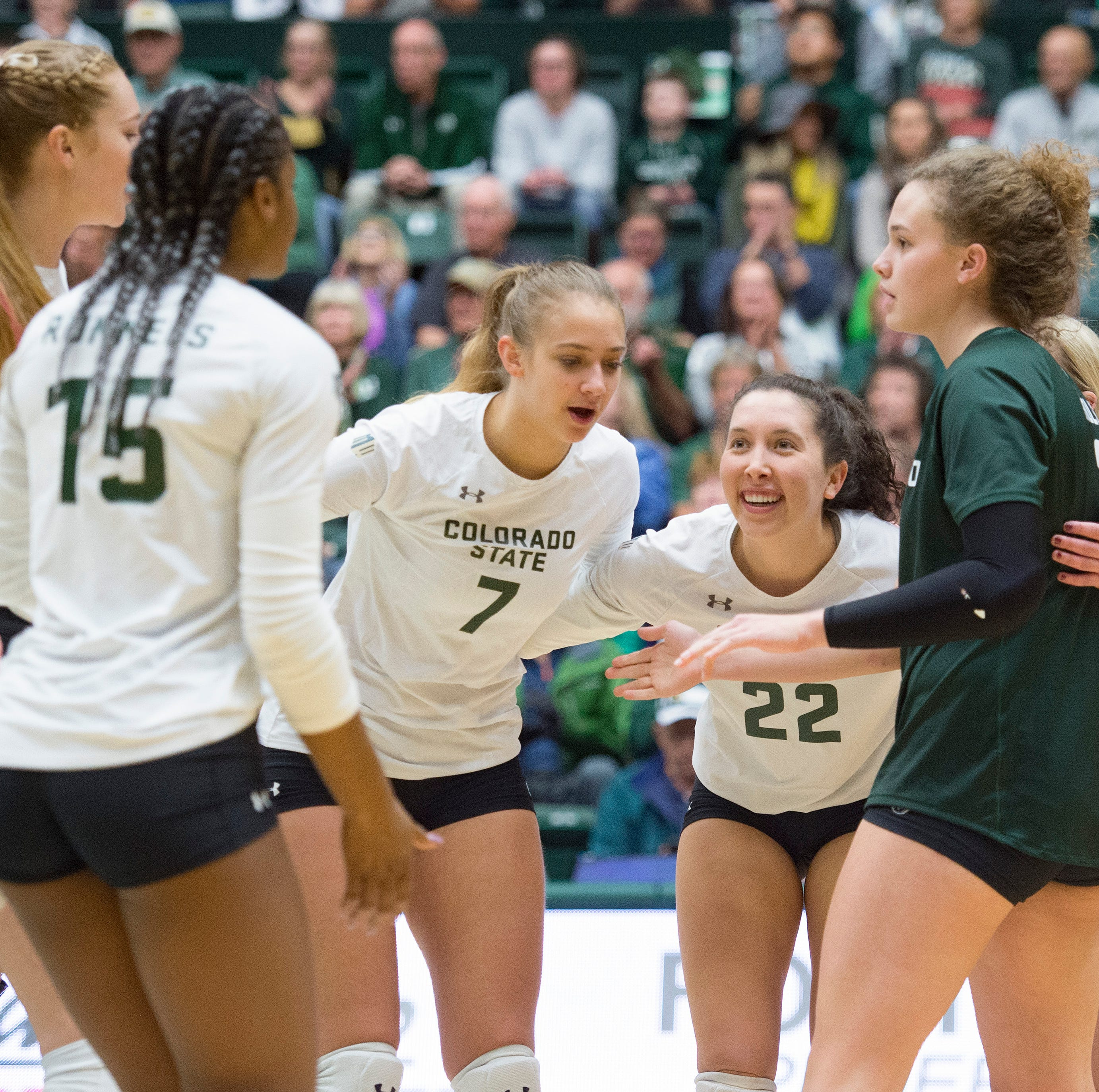CSU volleyball team clinches Mountain West title, NCAA tournament berth