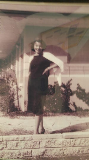 Mary Harborn was the only woman hired for on-site sales by the Gulf American Land Corp. in Cape Coral.