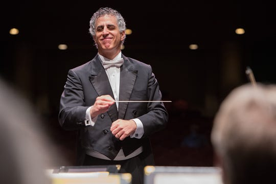 Southwest Florida Symphony's conductor and music director, Nir Kabaretti