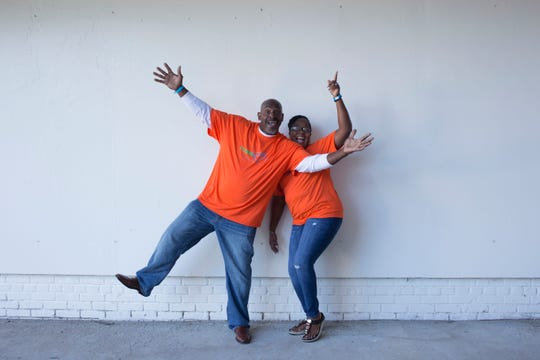 Vickie and Andre Jones of Fort Myers pose in a publicity photo for the TV inventors competition 'Make48'